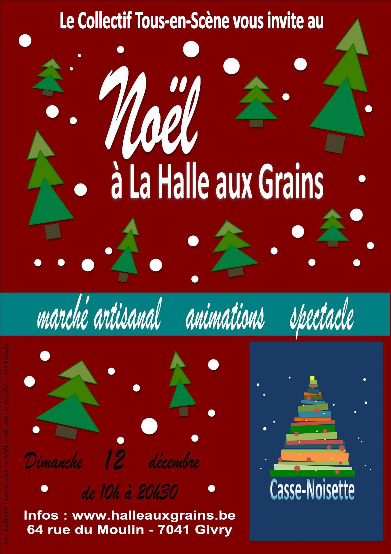 Noël à la Halle aux Grains